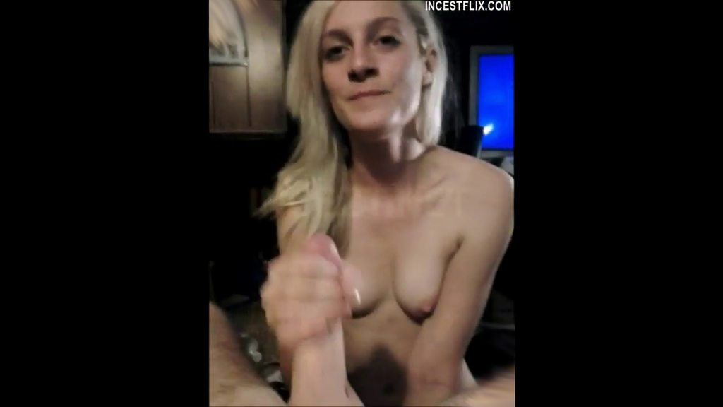 Sister Helps Brother Blowjob